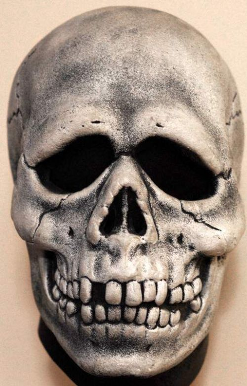 Mask Head Skull Halloween 3 Guillotine Halloween Zombie Body Prop